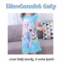 Dievčenské letné šaty - princess A