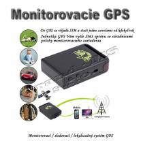 Monitorovací / sledovací / lokalizačný systém GPS  TK102B