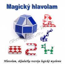 Magický hlavolam, skladačka či puzzle - had