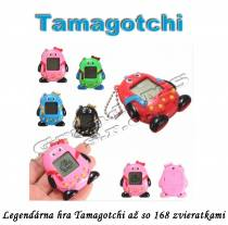 Elektronická hra Tamagotchi - 168 zvieratiek v 1