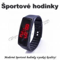 Športové digitálne hodinky QUEEN-US 0218, hnedá