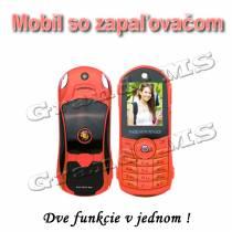 Mobilný telefón, ŠPORT CAR NEWMIND F8 - červený